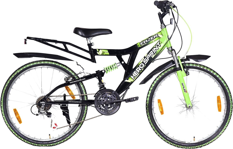 10. Hero Sprint Fazer 24T 18 Speed Cycle