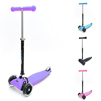 Amazon.com: Diversión Pro – Patinete Kick 3 ruedas para ...