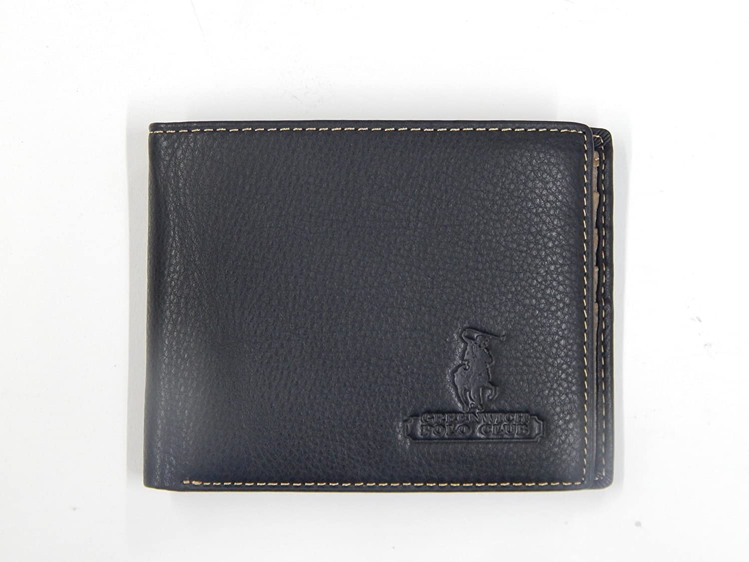GREENWICH POLO CLUB - Cartera para Hombre Negro Negro: Amazon.es: Equipaje