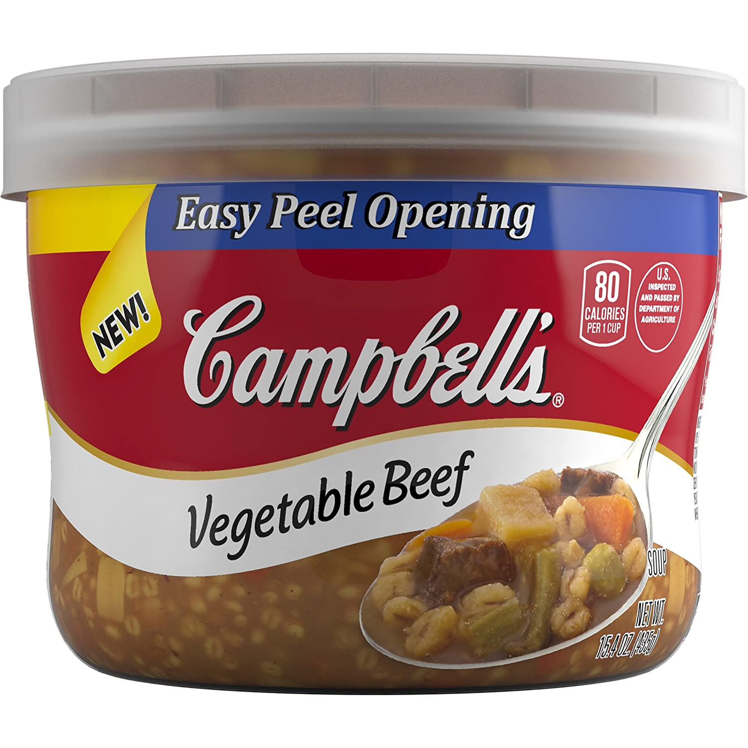 Amazon Campbell s Soup Ve able Beef 15 4 Ounce Pack of