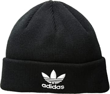 Amazon.com  adidas Boys   Youth Originals Trefoil Beanie 7ead0f99e04