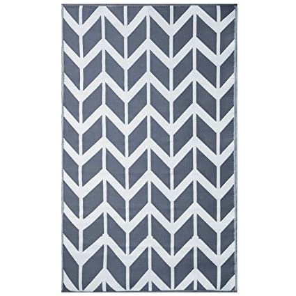 Amazon Com Earth Collective Recycled Easy Clean Outdoor Mat The