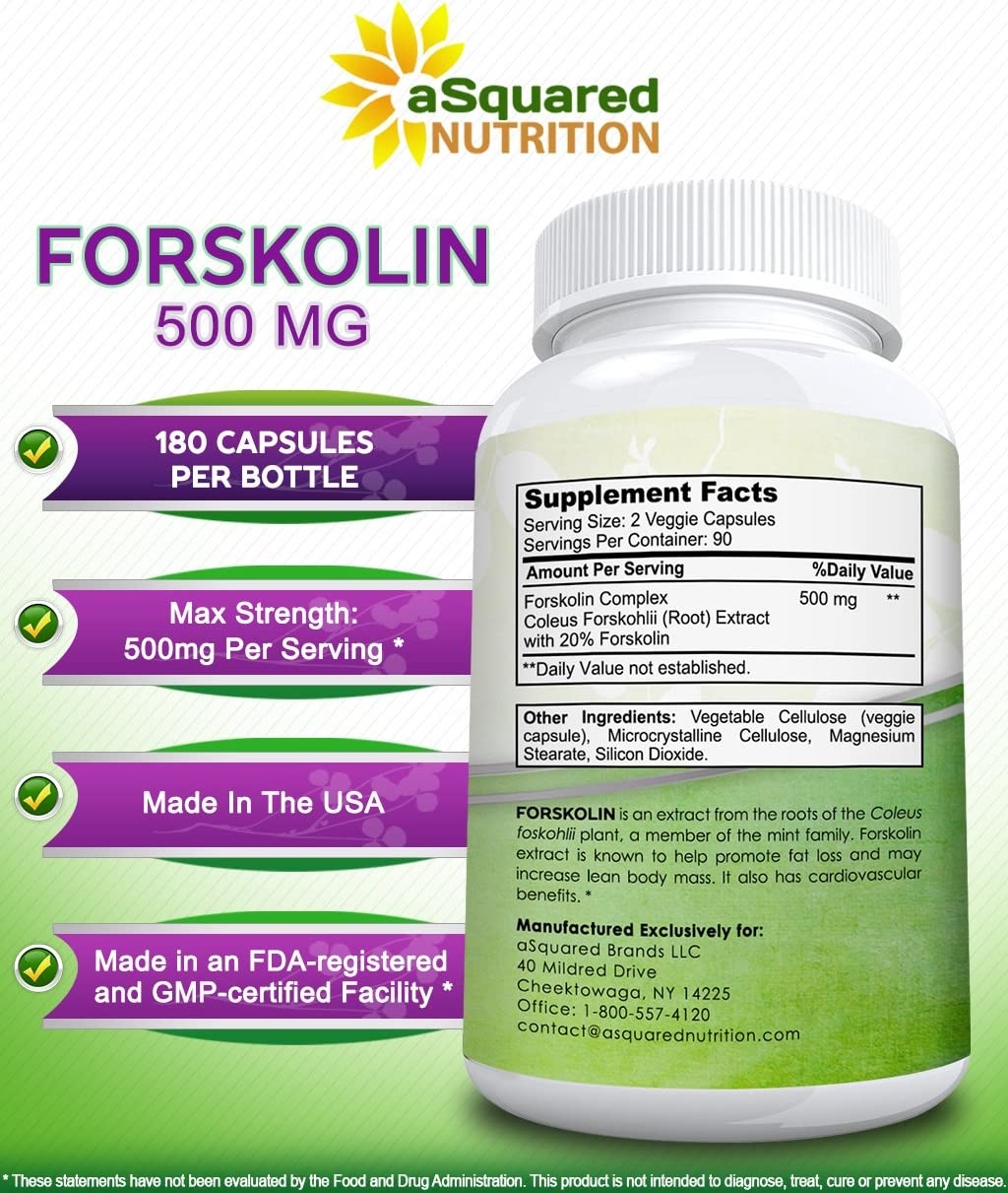 forskolin nutrition facts