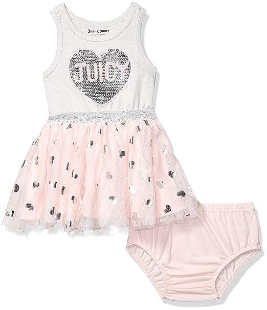 Amazon.com: Juicy Couture - Vestido para bebé y niña: Clothing
