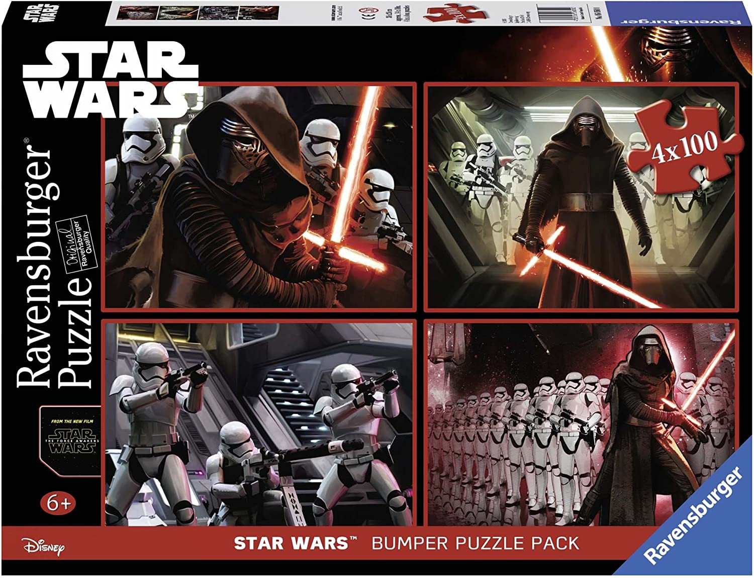 Star Wars Classic Puzzle 4 X 100 Pieces