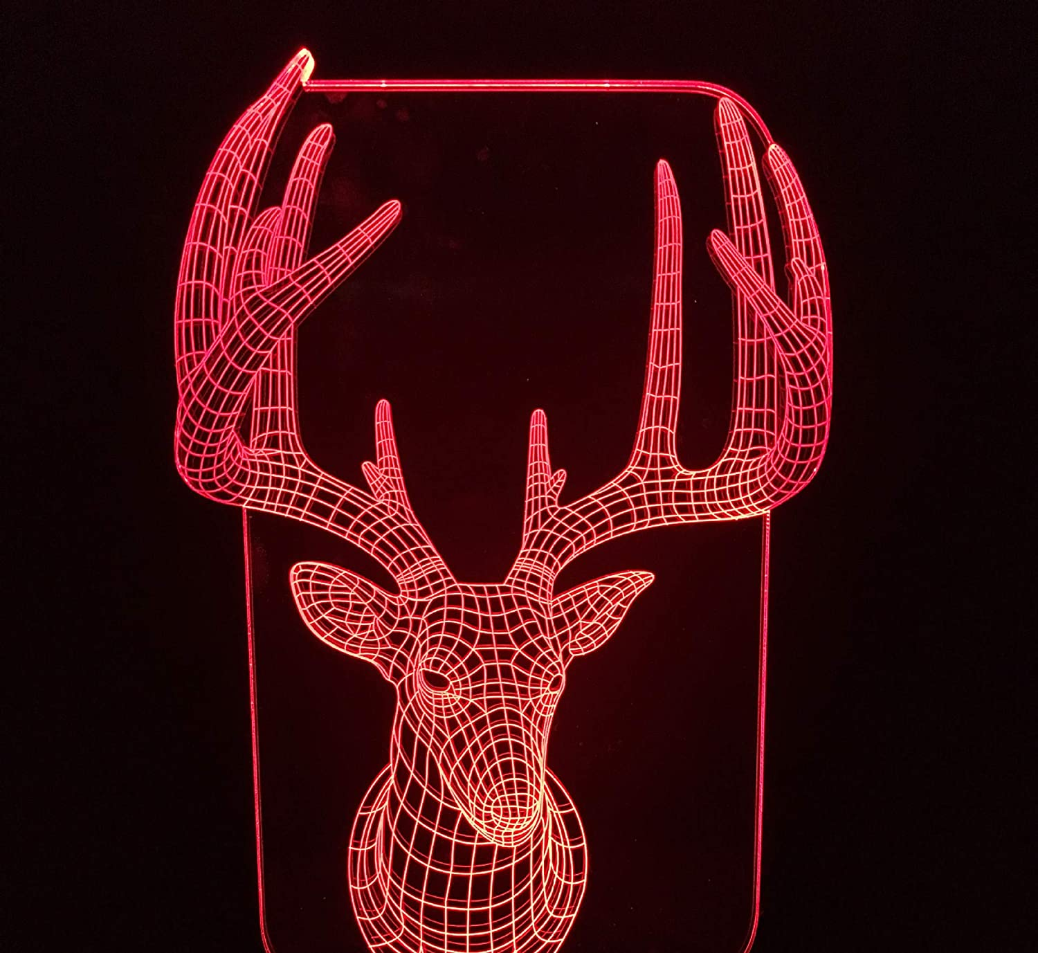 7 Colors Changing Bedroom Decor Night Light Gifts Xdorra Giraffe Acrylic 3D Illusion Night Lights USB LED Table Lamp Touch Switch Control Home r2d2 3D Arts Lamp Giraffe