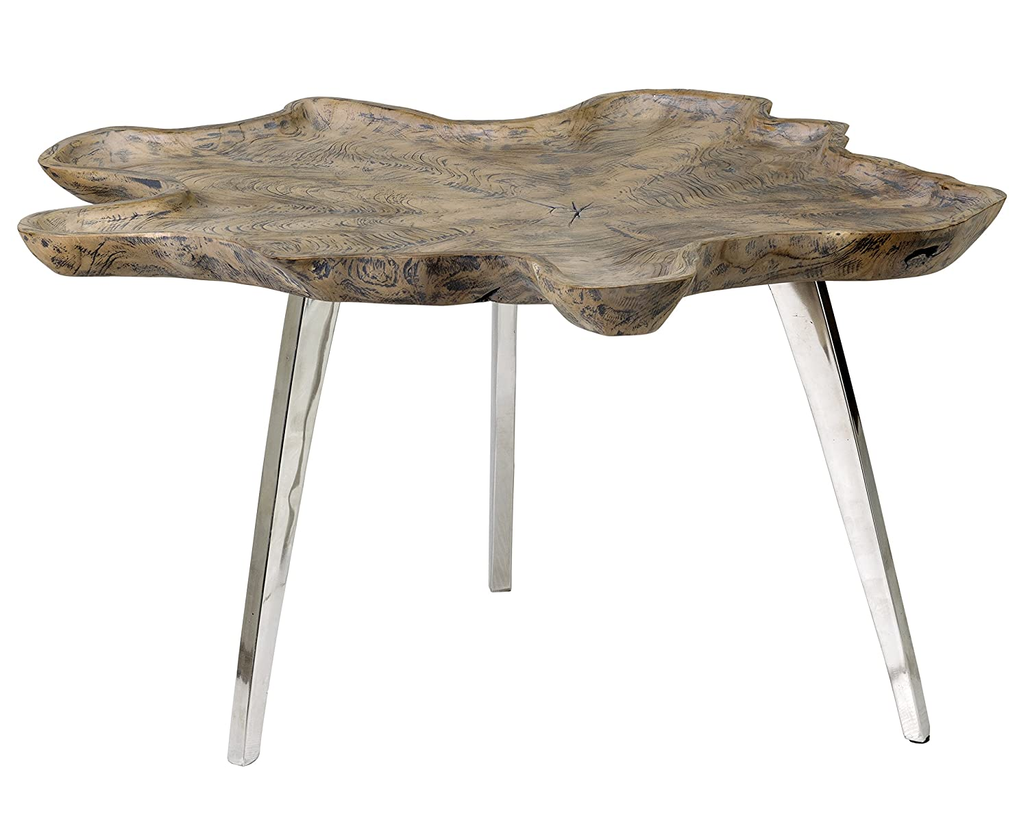 East at Main UU-UC-NA305-GP Adriana Coffee Table Grey 32 X 28 X 17