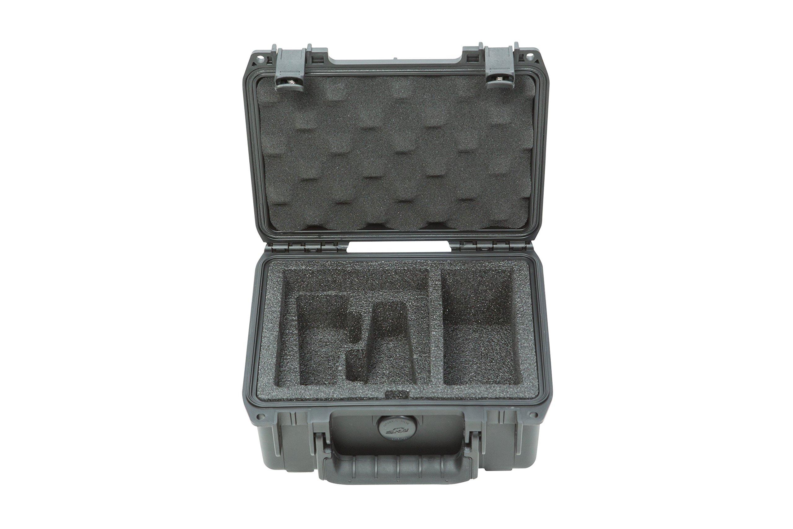 SKB 3i0806-3-rod Microphone Case