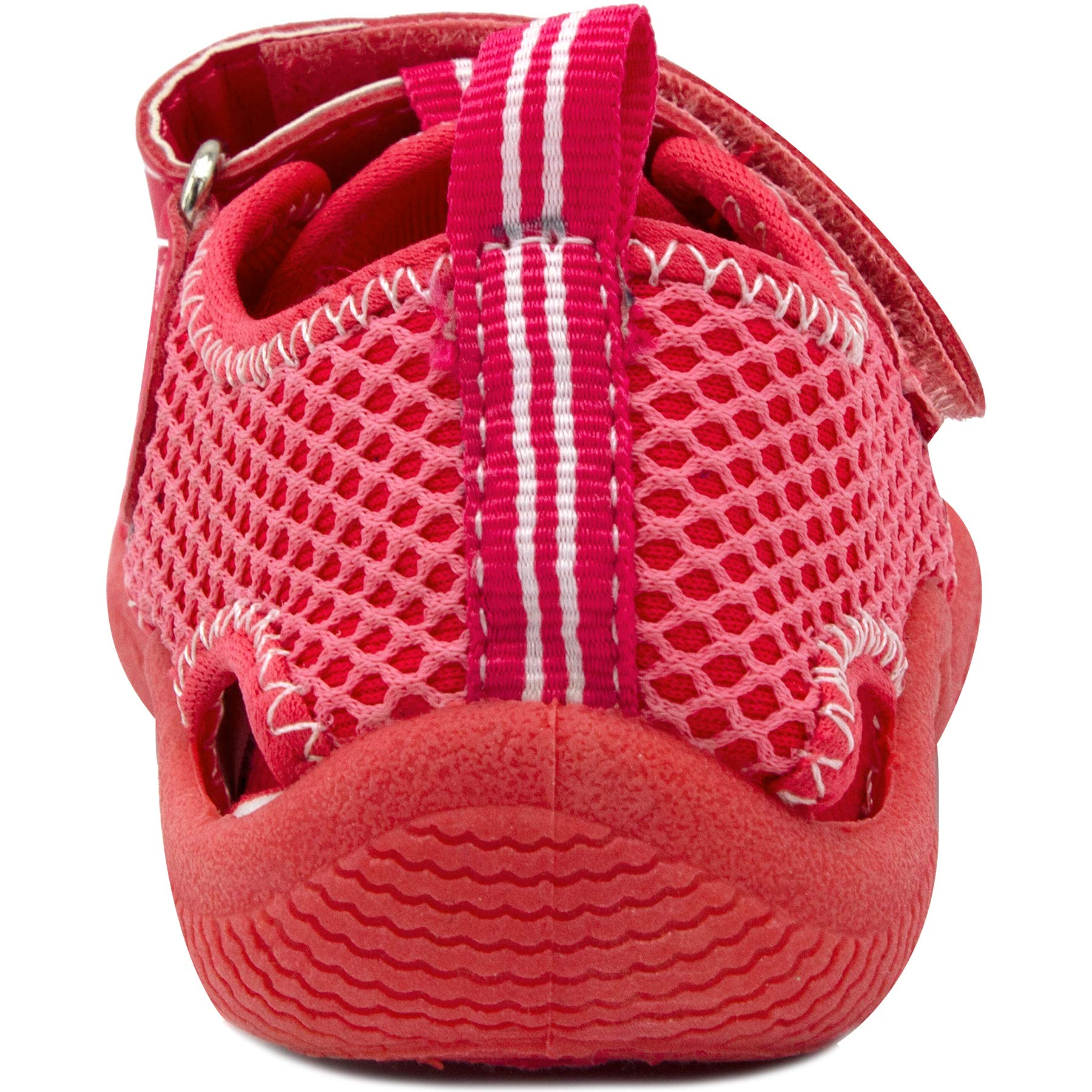 Nautica Kids Kettle Gulf Protective Water Shoe,Closed-Toe Sport Sandal-Pink/LT Pink-7 by Nautica (Image #3)
