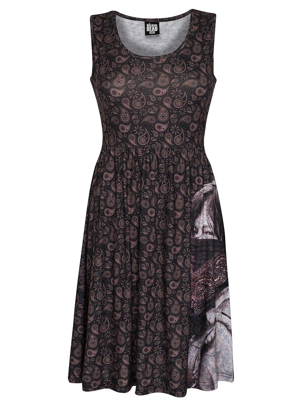 The Walking Dead Daryl Dixon - Large Face Bandana Dress multicolour