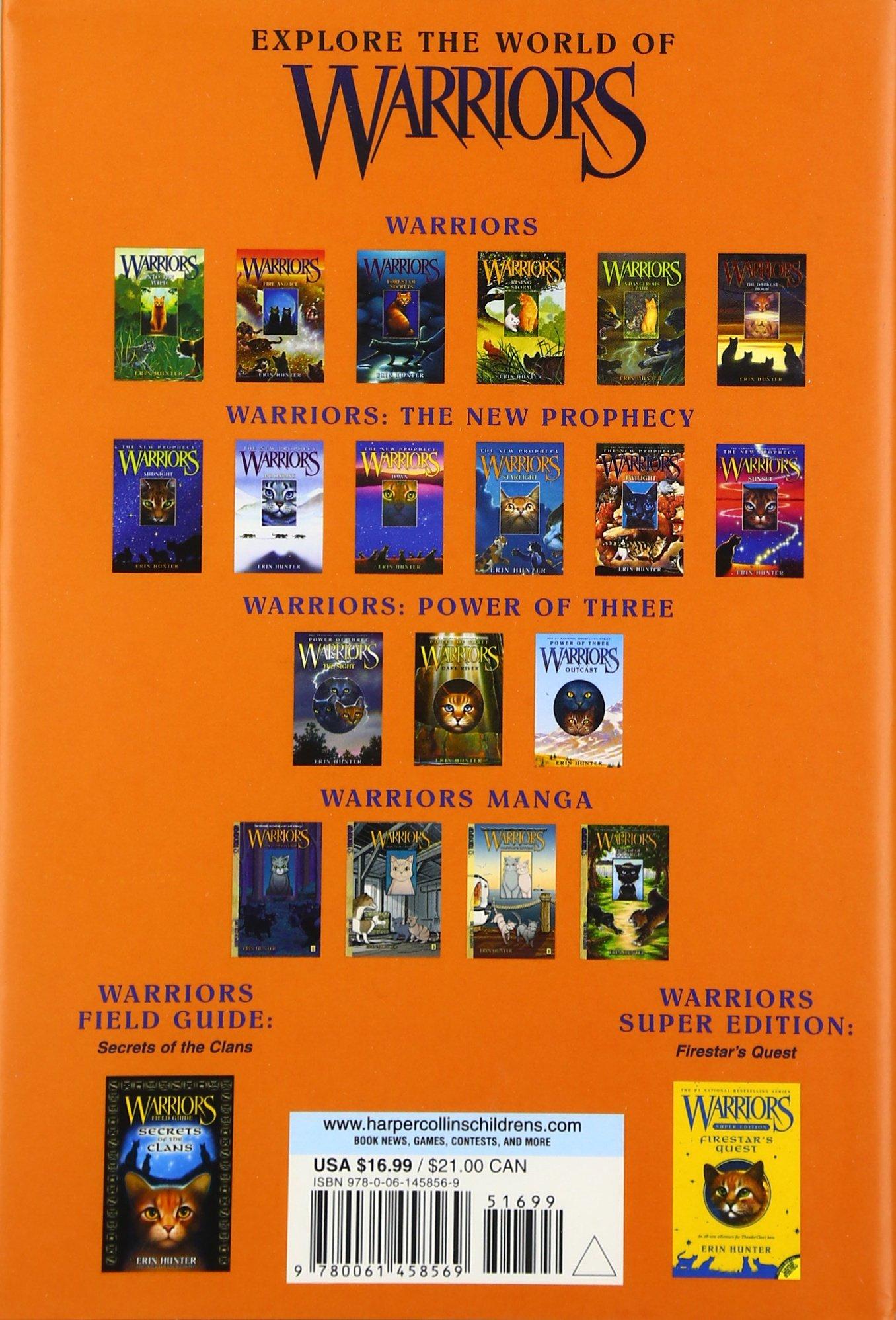 Warriors: Cats Of The Clans (warriors Field Guide): Erin Hunter, Wayne  Mcloughlin: 9780061458569: Amazon: Books