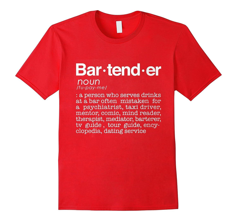 Bar-tend-er T Shirt-TJ