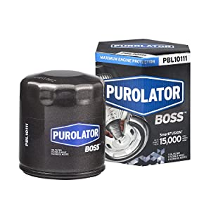 Purolator PBL10111 Black Single PurolatorBOSS Maximum Engine Protection Spin On Oil Filter