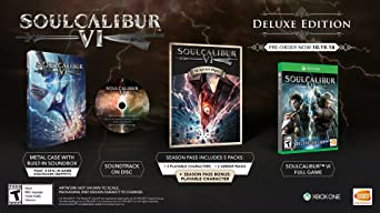 Soul Calibur VI Premium Edition for Xbox One [USA]: Amazon.es: Bandai Namco Games Amer: Cine y Series TV