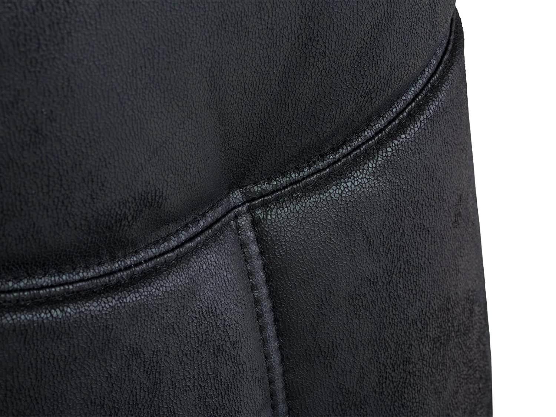 Massivum Bayon Schwingstuhl, Schwingstuhl, Schwingstuhl, Stoff, schwarz, 53 x 47 x 106 cm 584923
