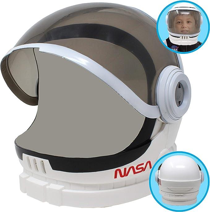 Amazon.com: Casco Astronauta con visera móvil para jugar a ...