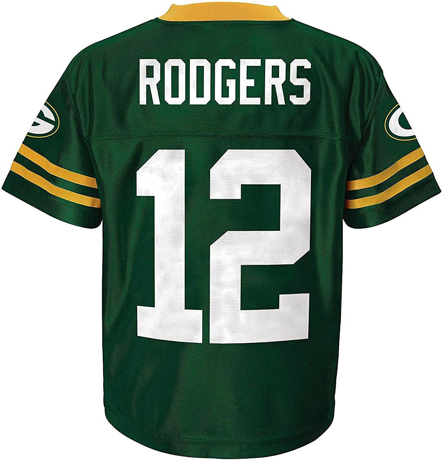 Aaron Rodgers Green Bay Packers Green Toddler Player Home Jersey