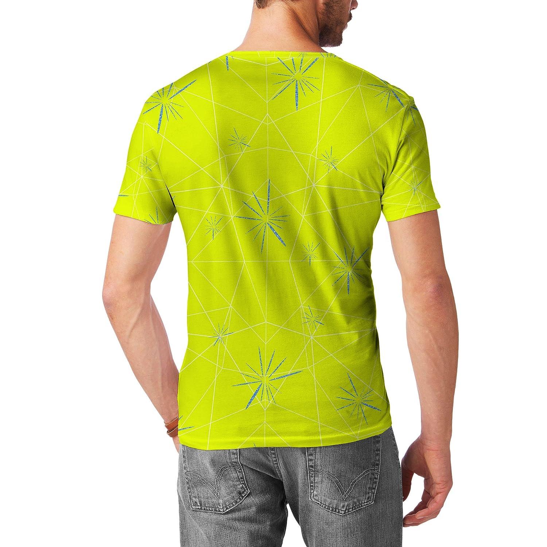 Joy Inside Out Disney Inspired Mens Cotton Blend T-Shirt