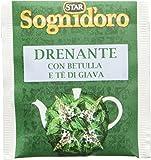 Sognid'oro - Tisane, Complemento Alimentare, Drenante, con Ortica, Verga d'oro e Betulla, 20 filtri - 40 g