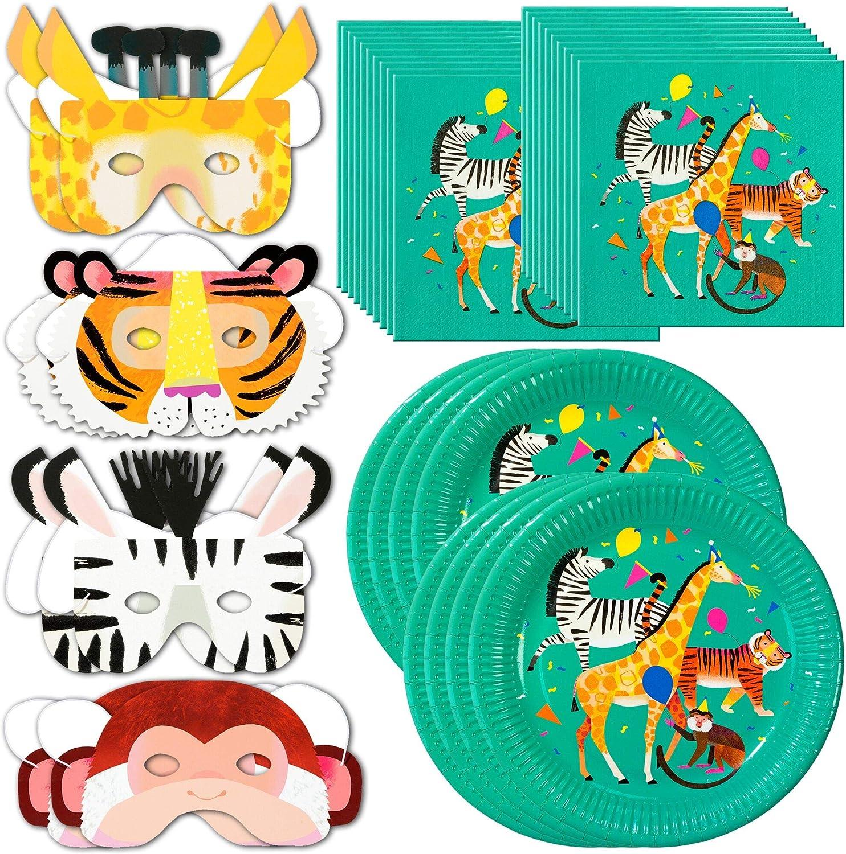 Talking Tables Zoo Party Bundle – Perfecto para fiestas de ...