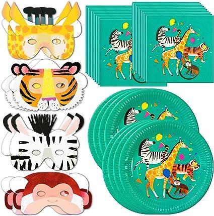 Amazon.com: talking tables Zoo Party Bundle – perfecto para ...