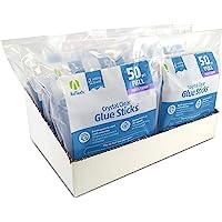 AdTech W220-14ZIP50-CASE Hot Glue Sticks, case pack, Clear, 6 Pack