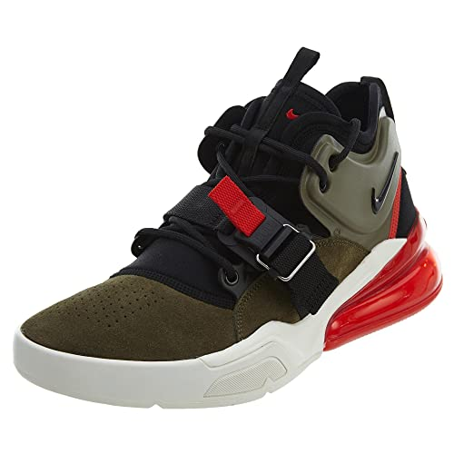 d3bcd10dcb2 Image Unavailable. Image not available for. Color  Nike Air Force 270 Men s  Running Shoes Medium Olive Black ...