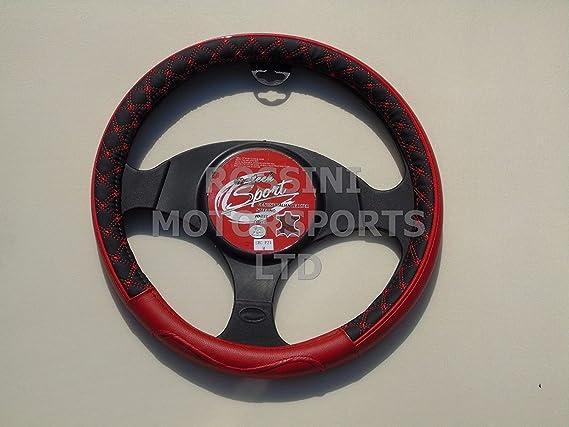 R - Adecuado para Seat Ibiza Coche, Cubierta de Rueda de Acero, SWC P 21 m, Color Rojo: Amazon.es: Coche y moto