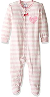 c5af867c4 Amazon.com: Kushies Baby-Girls Newborn 2 Piece Set Bedtime Stories ...