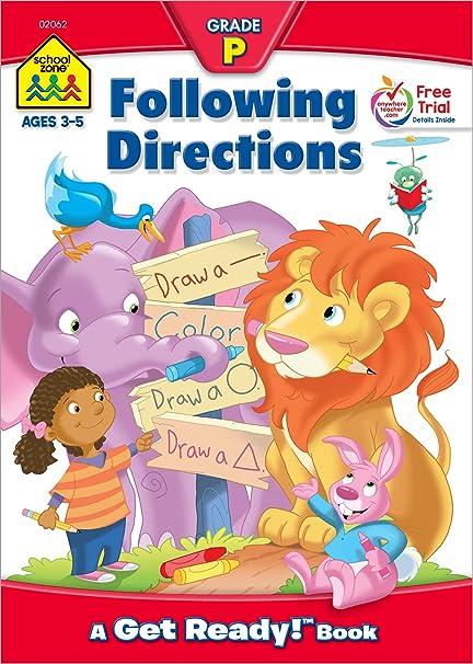 Following Directions Get Ready Books Barbara Gregorich Joan