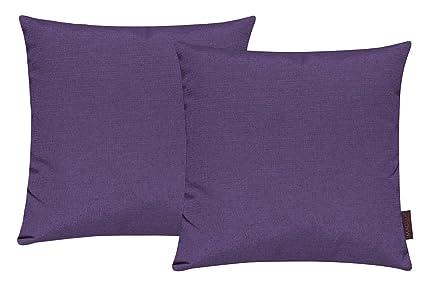 Set di 2 copricuscino per divano salotto - Dimensione: 40x40cm ...
