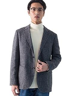 Mallalieus Tweed Jacket 3222-199-0305: Grey Herringbone