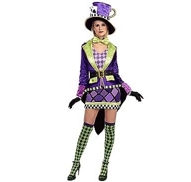 Spooktacular Creations Crazy Mad Hatter Disfraz de Circo ...