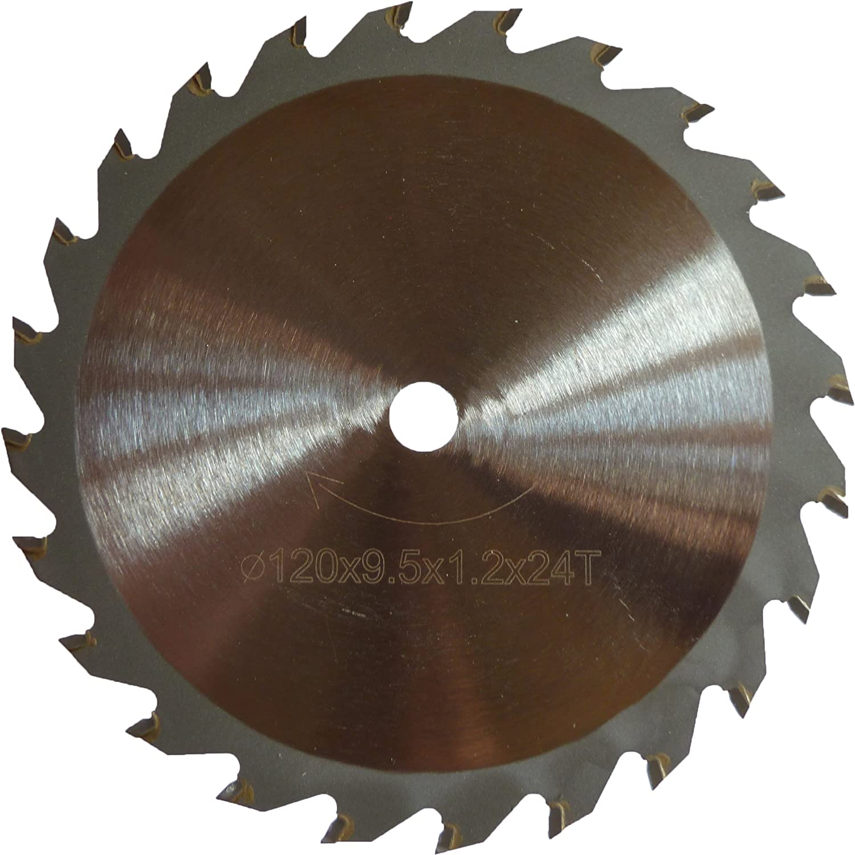 Kreissä geblatt fü r Worx worxsaw XL wx429. 120 mm Durchmesser x 9, 5 mm Bohrung x 24T Holz Schneiden Longway Tools