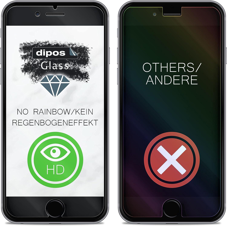 dipos I 2X Protection ecr/án Mat compatible avec Ricoh WG-6 Verre Souple Film Protecteur 9H