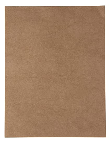 image regarding Printable Kraft Paper referred to as Kraft Cardstock - 96-Pack Letter Sized Stationery Paper, Printable 175GSM 65lb Deal with Cardstock, Fantastic for Menus, Information, Invites, Arts,