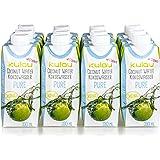 12x KULAU Bio-Kokoswasser PURE, reines Kokosnusswasser ohne Zusätze , 330 ml