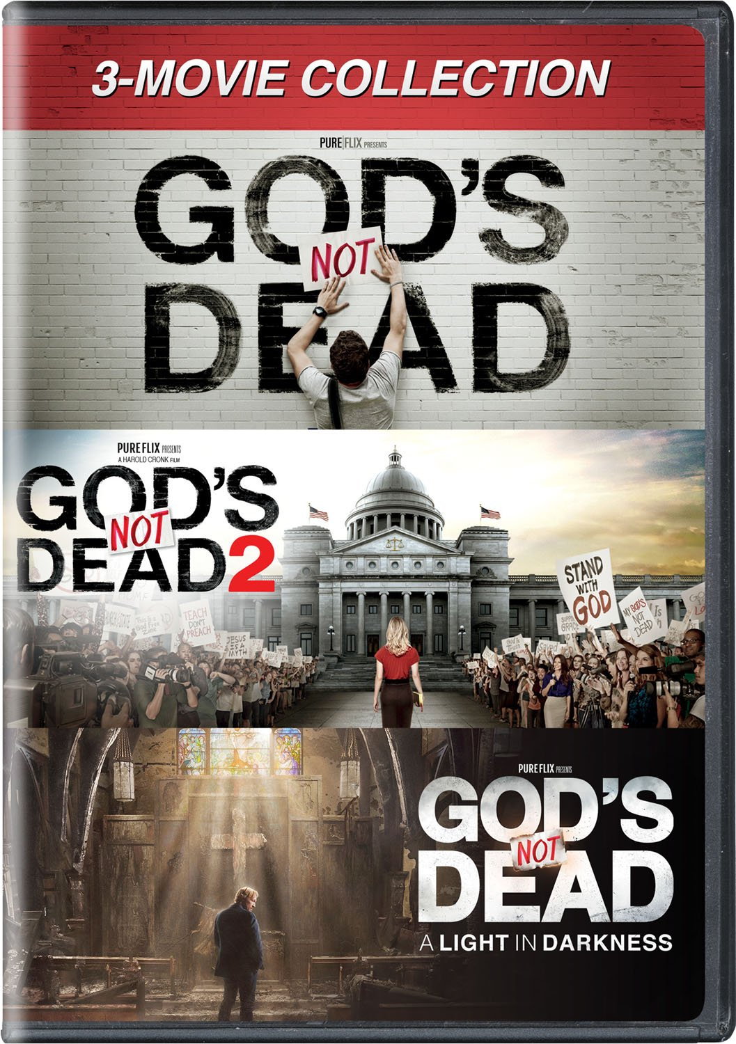 DVD : God's Not Dead: 3-movie Collection (3 Pack, 3PC)