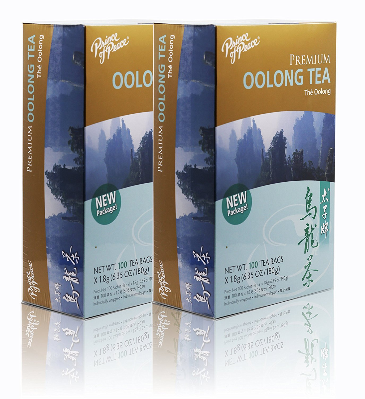 Prince Of Peace Oolong Tea-100 Tea Bags net wt. 6.35oz (180g) (2) VBPUKPPAZIN3351