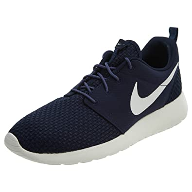 Nike Men s Roshe One SE Shoe Obsidian Sail-Blue Recall 7.5 3a00a3a2f9f
