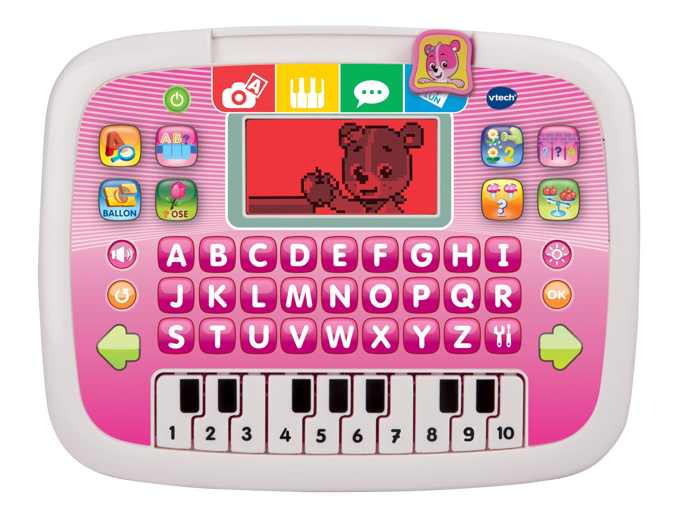 Vtech - 139455 - Jeu Électronique - Tablette P'tit - Genius Ourson - Rose product image