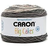Caron Big Cakes Self Striping Yarn 603 yd/551 m 10.5oz/300 g (Peppercream)