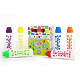 Fruit Scented Washable Dot Markers for Kids and Toddlers Educational Set of 6 Pack by Do A Dot Art, The Original Dot…