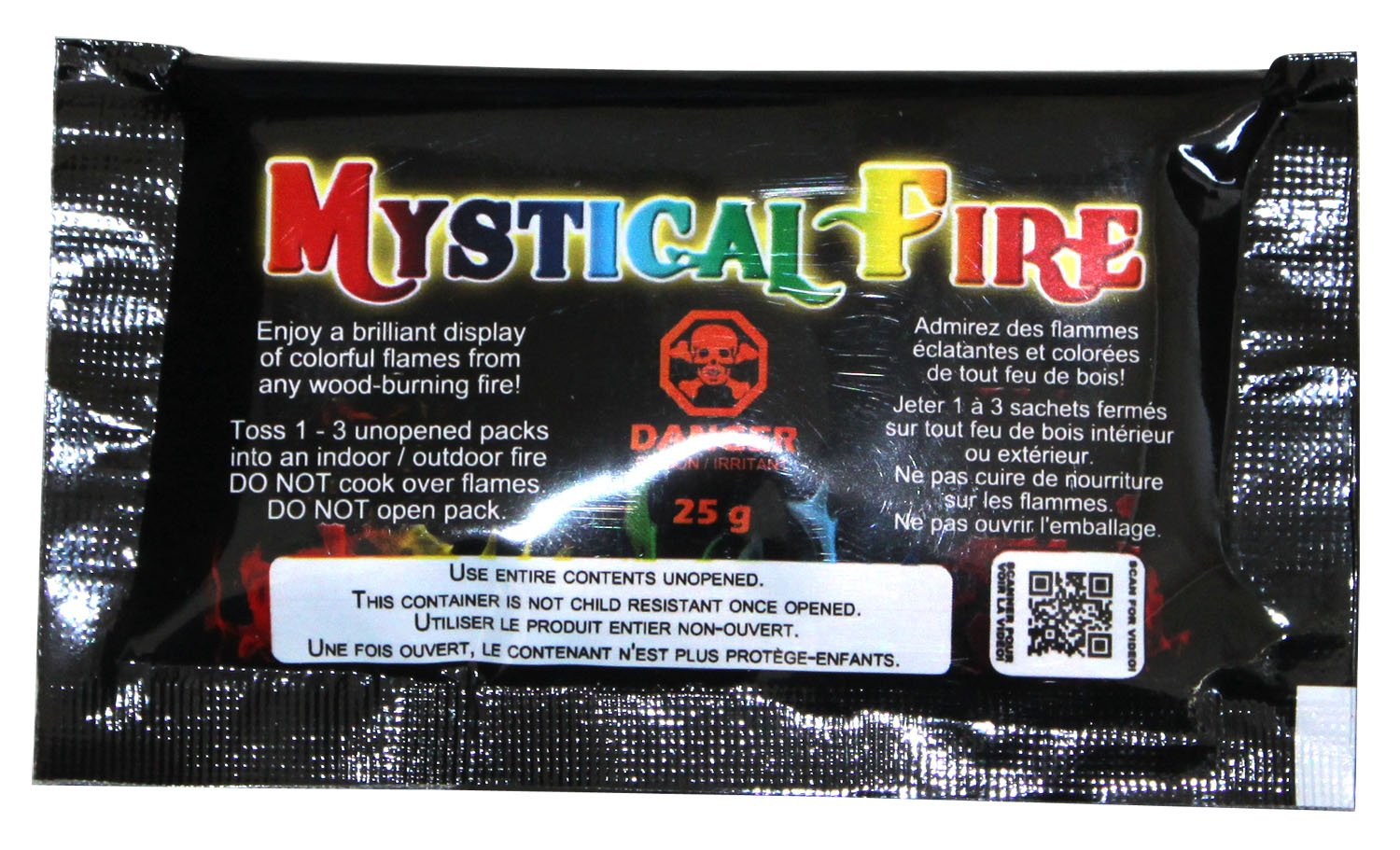 Mystical Fire Flame Colorant Vibrant Long-Lasting Pulsating Flame Color Changer for Indoor or Outdoor Use 0.882 oz Packets 3 Pack FBA_Mystical Fire CMP1519