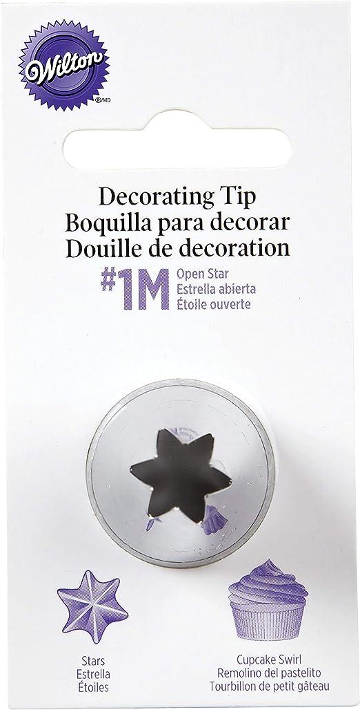 centimeters Wilton Boquilla para decoraci/ón dise/ño de Flor