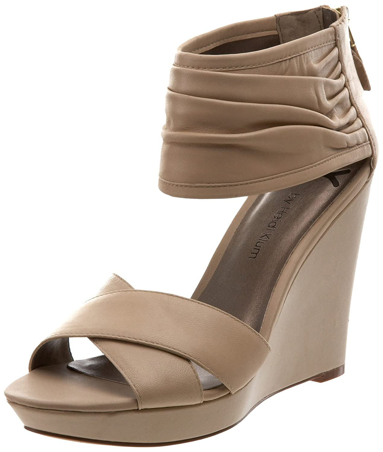 624aa96a2d HK by Heidi Klum Women's Chloe Wedge Sandal