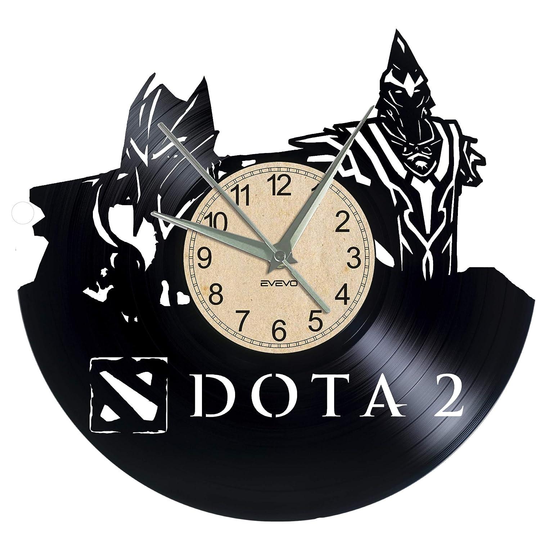 EVEVO DOTA2 DOTA2 - Reloj de Pared (Vinilo): Amazon.es: Hogar