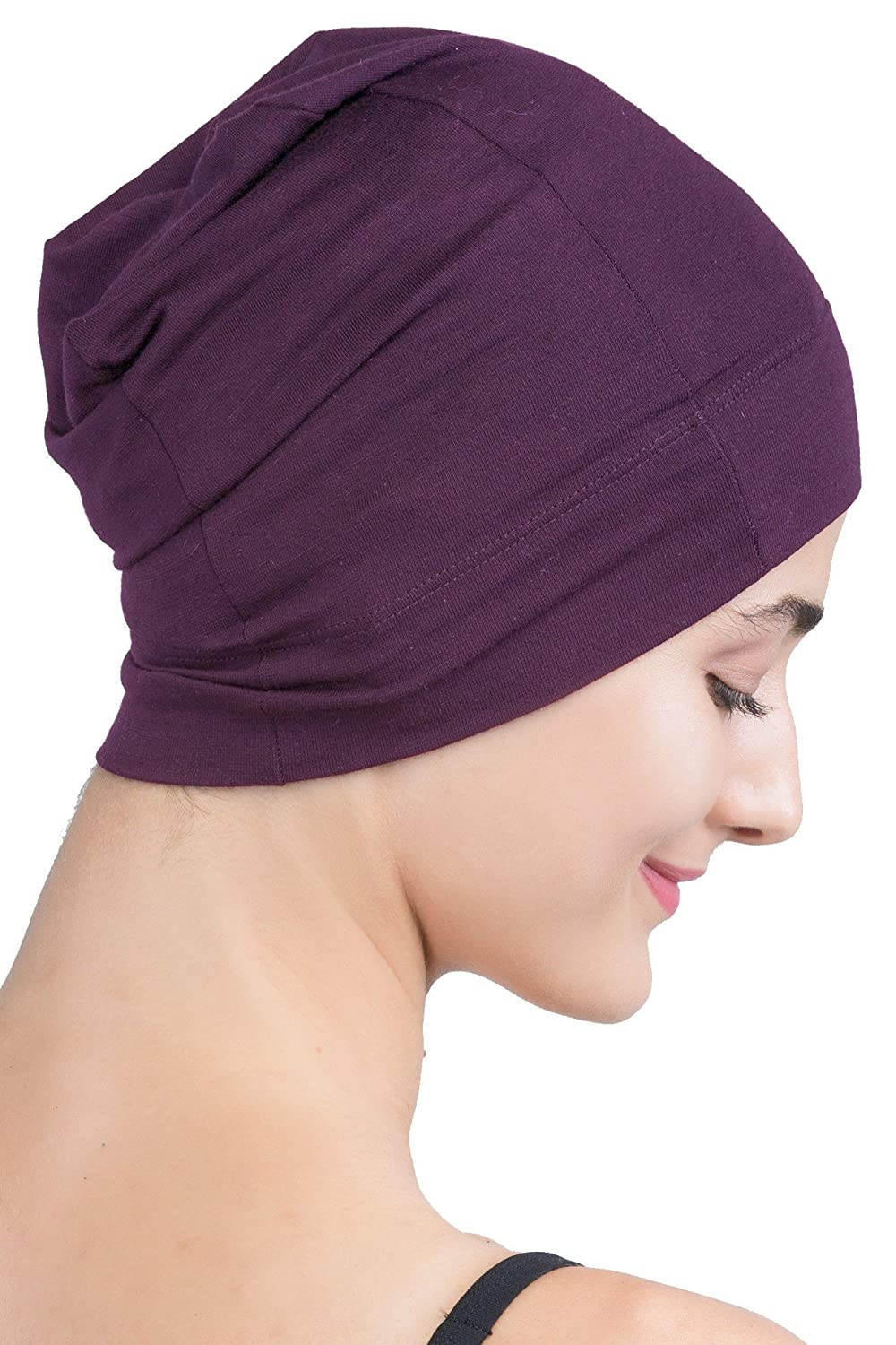 Deresina Women Snug-Fit Sleep Cap for Hair Loss