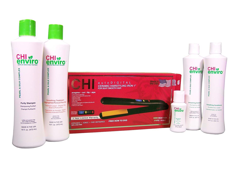 Amazon Chi Enviro Smoothing Treatment Essential Kit For