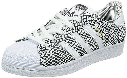 adidas Superstar Snake K - Zapatillas para niño, Color Blanco, Talla 39 1/3: Amazon.es: Zapatos y complementos